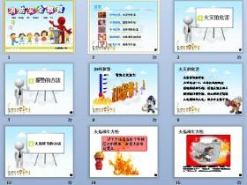 分年级消防安全教育课PPT课件下载