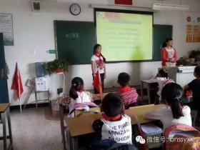 """安宁市实验学校少先队:""""了解党章 展望未来""""主题活动课"""